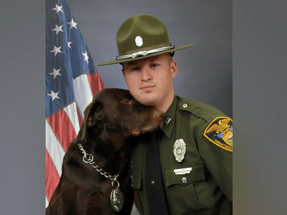 K-9 Conservation officer steals the show at photo shoot