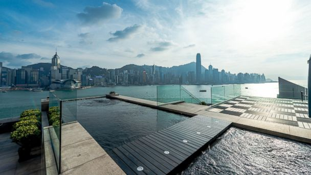 PHOTO: The Intercontinental Hong Kong hotels Presidential Suite has a 2,500 square foot rooftop terrace and infinity pool.