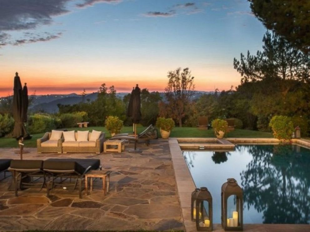 PHOTO: The sprawling backyard has incredible views of the surrounding hills.