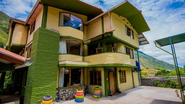 PHOTO: La Casa Verde, an environmentally friendly lodge in Ecuador that hosts guests from all over the world, is being given away as a grand prize through a raffle.