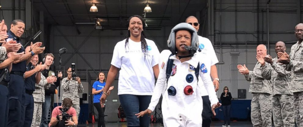 PHOTO: Zayden Wright, 7, saw his wish of traveling to Saturn come true thanks to the help of virtual reality and and Make-A-Wish Georgia.