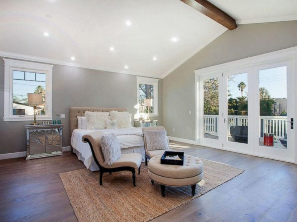 PHOTO: The master bedroom inside Ne-Yos $1.9 million California home.