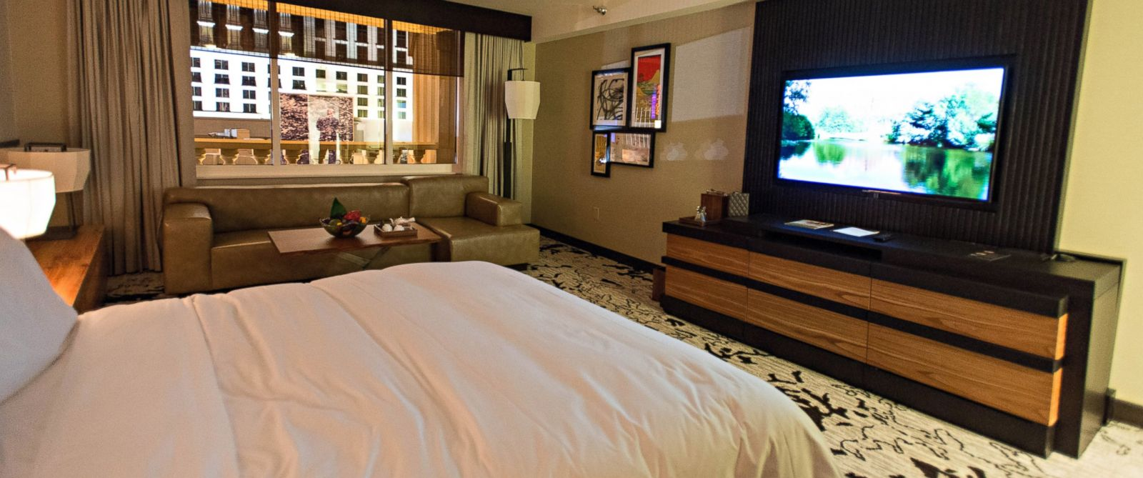 PHOTO: The Nobu Hotel, located within Caesars Palace, has Japanese-themed rooms and gives guests access to all of Caesar Palaces amenities.