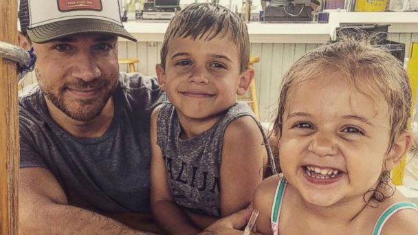 PHOTO: Chris Illuminati with his two children, 7-year-old Evan and 4-year-old Lila.