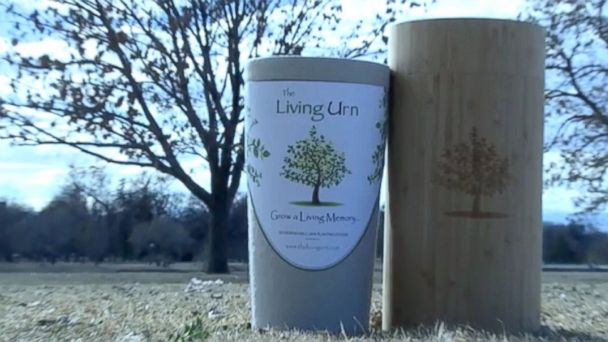 PHOTO: The Living Urn offers a unique burial option for a deceased loved one.