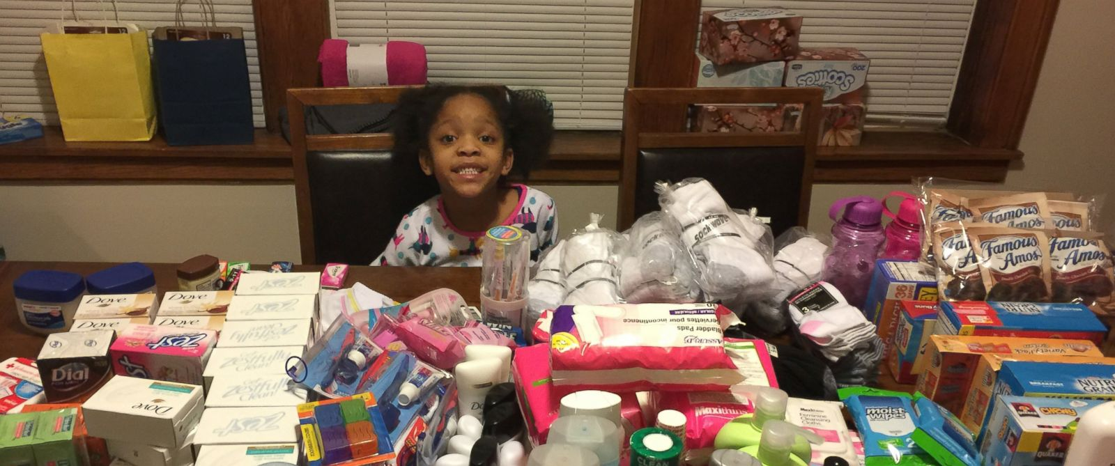 PHOTO: Artesha Crews daughter Armani wanted to feed the homeless instead of having a traditional birthday party when she turned 6 on March 5.