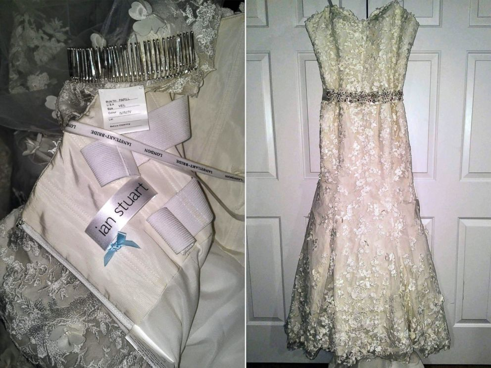 PHOTO Aly Porter Donated An Ian Stuart Wedding Dress And Accessories To Bride
