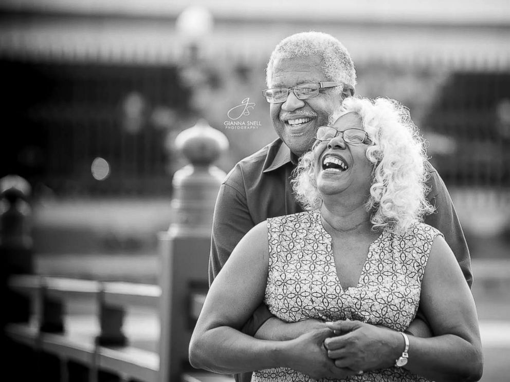 PHOTO: Murphy Wilson, 70, and Lucinda Myers, 67, plan to wed on July 29, 2017.
