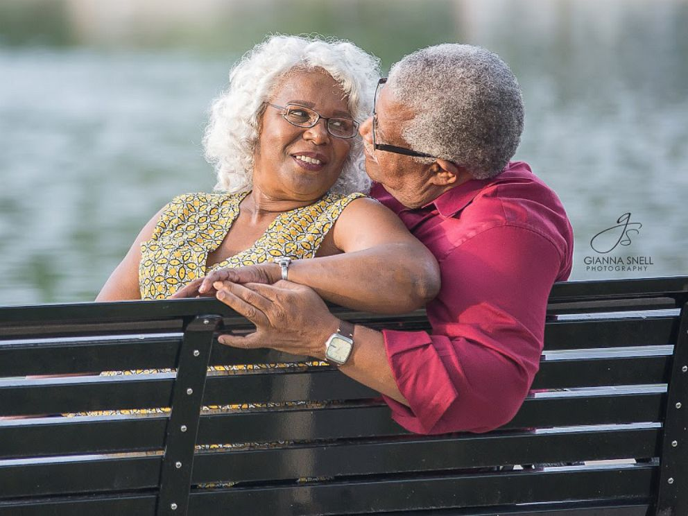 PHOTO:Lucinda Myers, 67, and Murphy Wilson, 70, plan to wed on July 29, 2017.