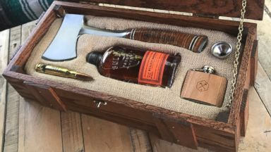 Man makes 'wilderness wedding survival kit' boxes for his groomsmen