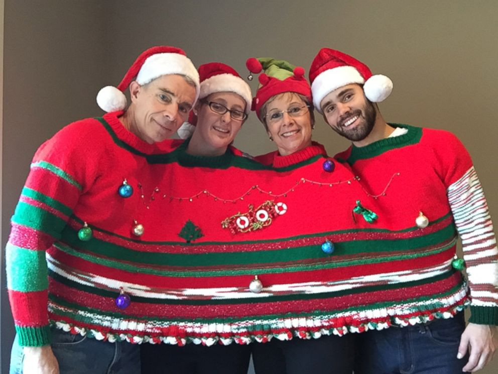 Ugly Christmas Sweaters to Get You in the Holiday Spirit - ABC News
