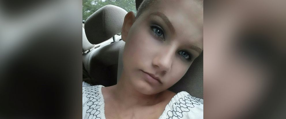 "PHOTO: Mckenzi Middlebrooks, who is battling two forms of cancer, decided to ""take control"" by shaving her head before she lost it through her treatment."
