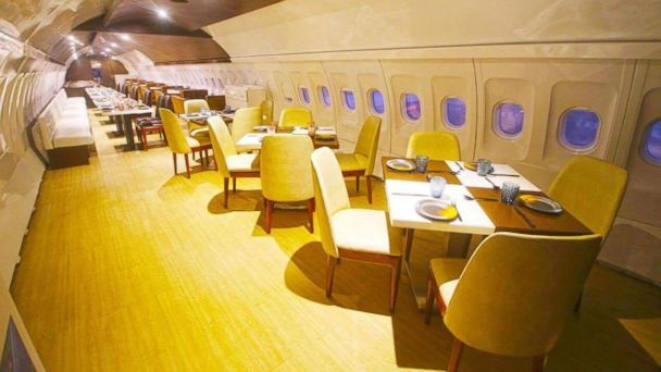 PHOTO: Hawai Adda is a vegetarian restaurant located inside a repurposed Airbus A320.