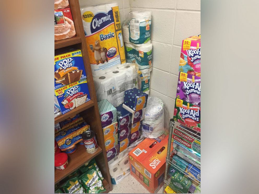 PHOTO: Justin Franks, 20, Started A Donation Based Food Pantry In His Part 51