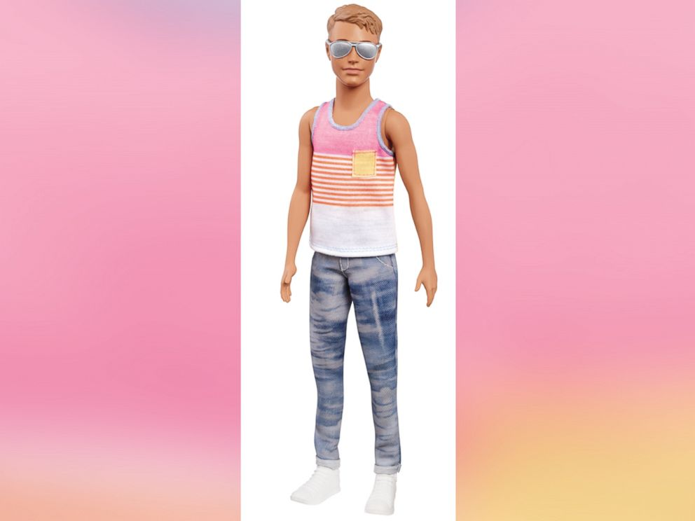 New diverse Ken dolls with man bun, 'dad bod'