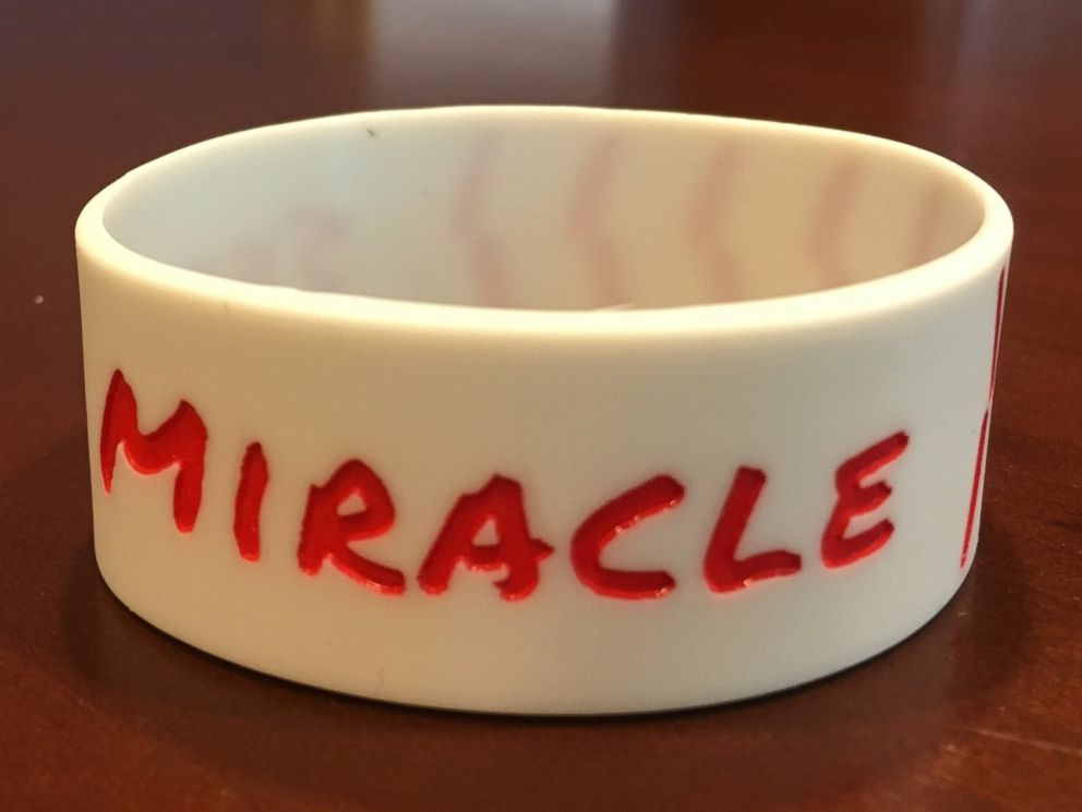 PHOTO: Seek a miracle bracelets made in honor of Sam Bridgmans graduation from USF on May 7, 2017.