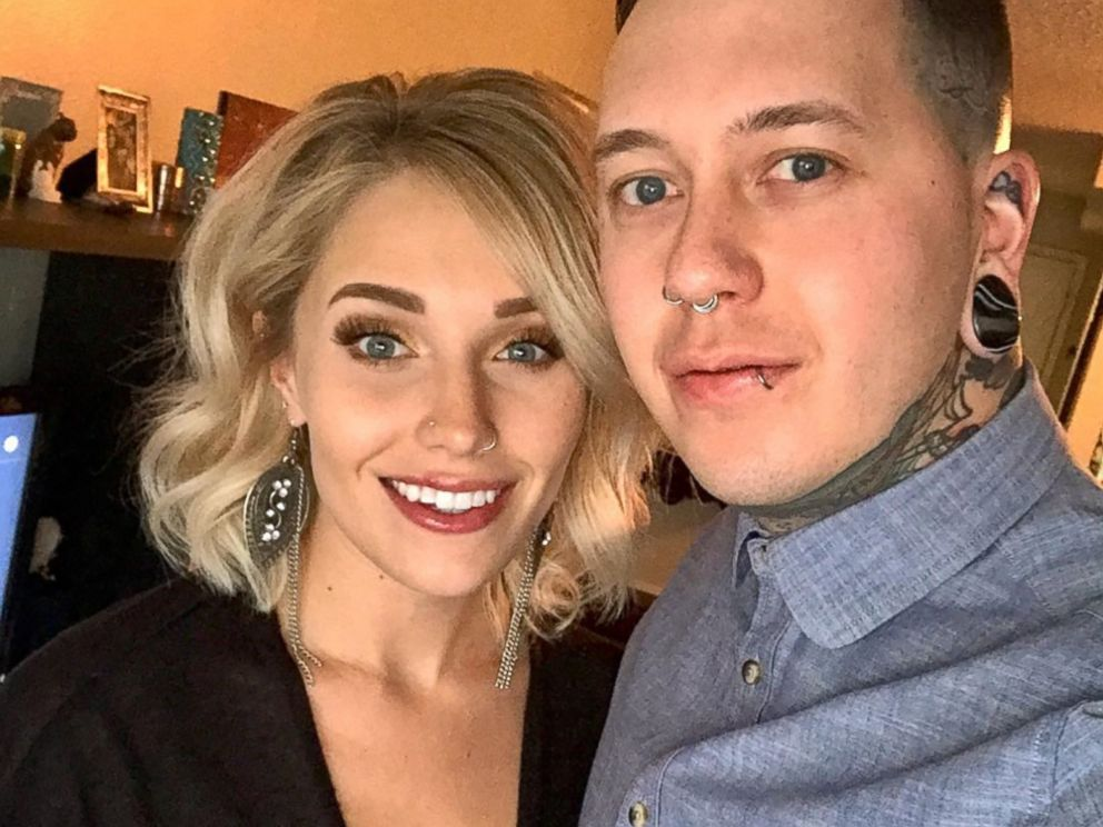 PHOTO: Vinny Capaldo-Smith proposed marriage with a tattoo, which he tricked his now-fiance Brooke Wodark, into inking on him.