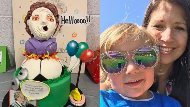 PHOTO: Evan Kowalski, 4, honored his favorite movie