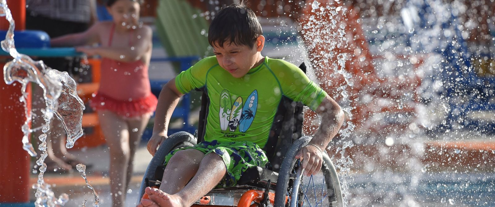 PHOTO: Morgans Inspiration Island, part of Morgans Wonderland in San Antonio, Texas, is the worlds first accessible water park.