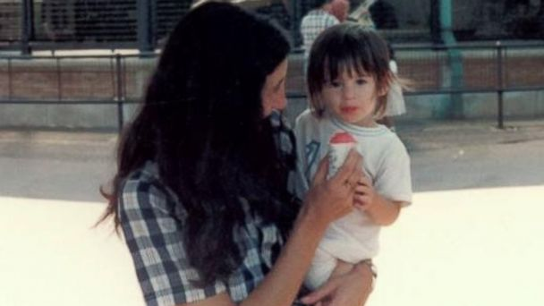 PHOTO: Melissa Wachman with her mother, Janet Enson, at the Bronx Zoo in 1982.
