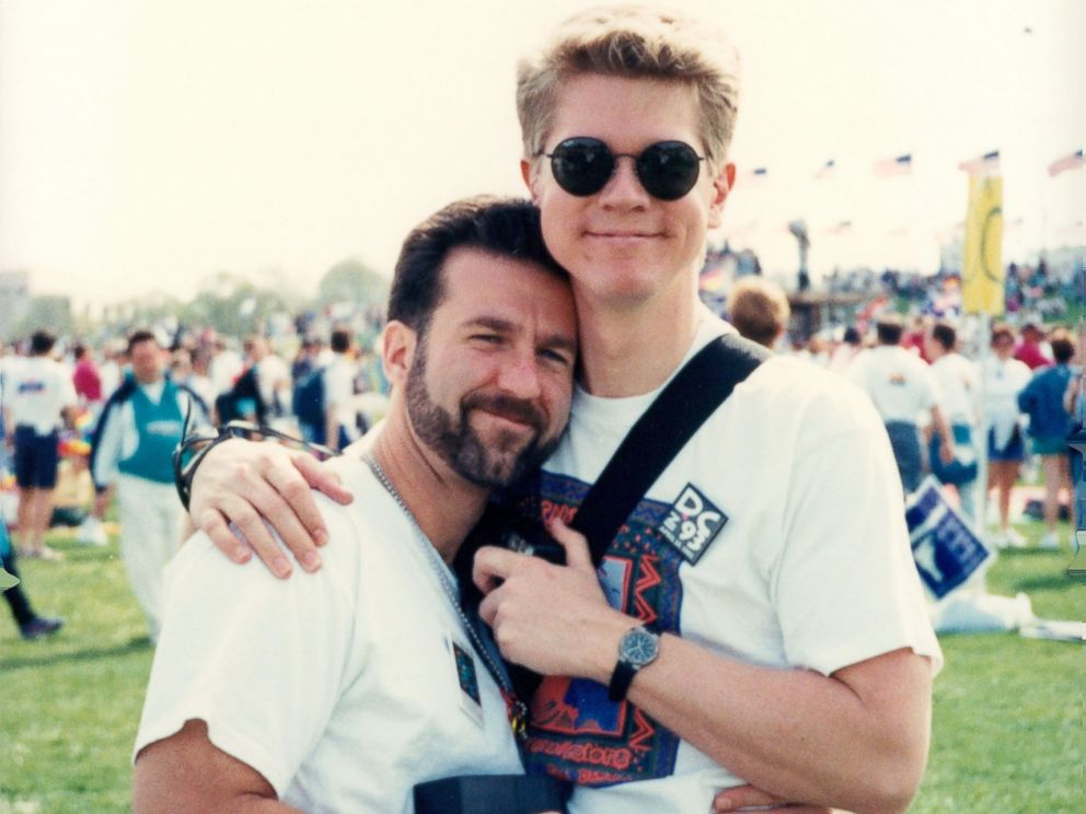 Couple recreates DC Pride photo 24 years later