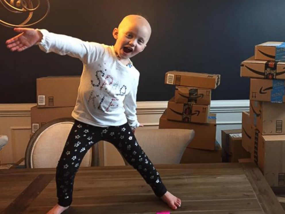 PHOTO: Jillian Massey, 4, of Coopersburg, Pennsylvania, has collected 3,000 toys for her friends at Childrens Hospital of Philadelphia.