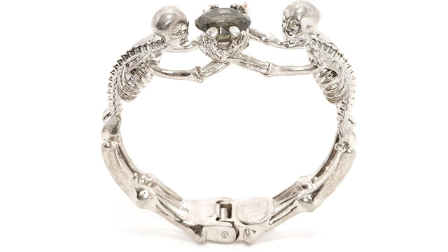 PHOTO: Twin Skeleton Jewel Bangle