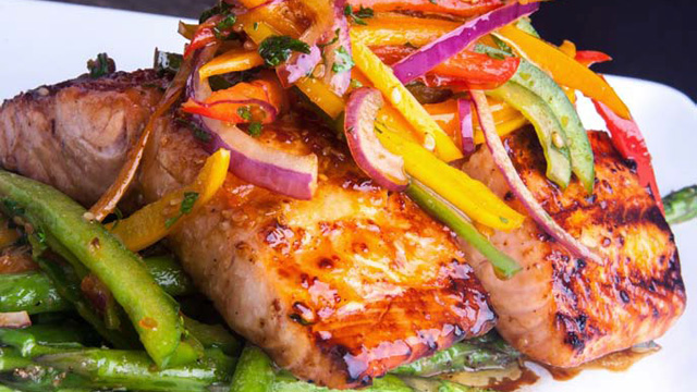 PHOTO: 2 Chainz's recipe for teriyaki salmon.