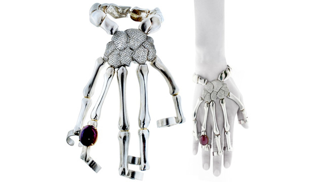 PHOTO: Skeleton Hand Bracelet