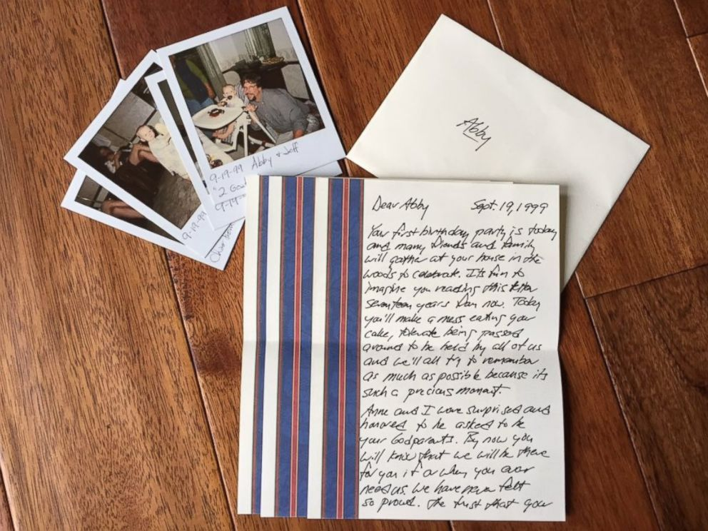 Letters From Heaven Teen Sobs Over Time Capsule Notes From Late
