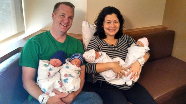 HT Annie Joby Johnston nt 131104 16x9 608 Ohio Sisters Deliver Twin Quadruplets
