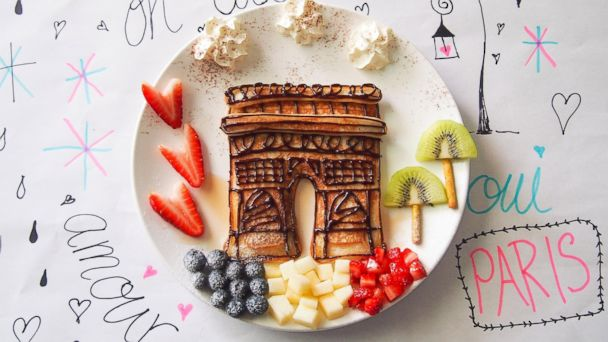 HT Arc de Triomphe nt 131015 16x9 608 Plates of Art: Mother Turns Ordinary Food Into Masterpieces