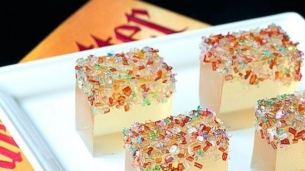 PHOTO: Champagne Jell-O shots