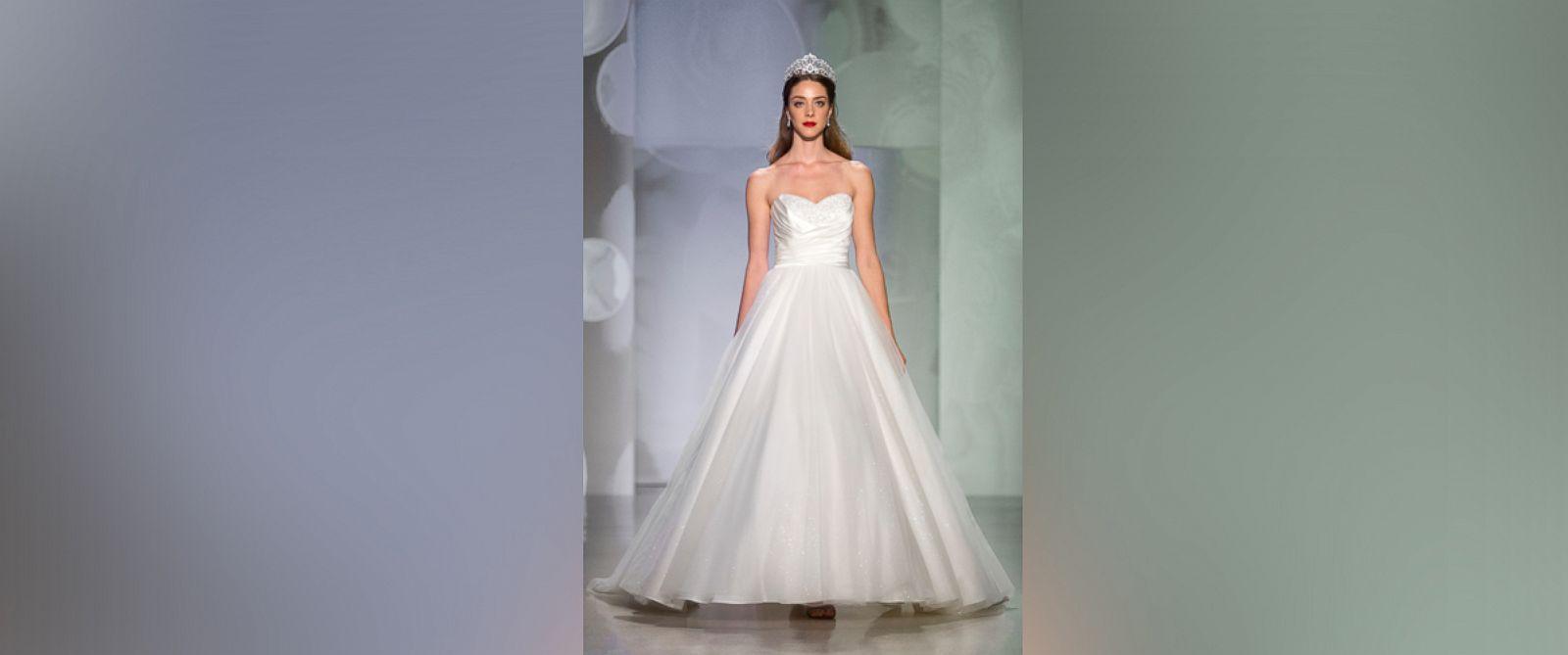 Wedding Disney Princess Wedding Dresses disney reveals new princess wedding dresses abc news photo cinderella anniversary dress play disneys
