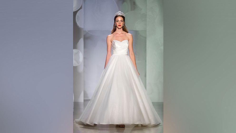 Disney Reveals New Princess Wedding Dresses