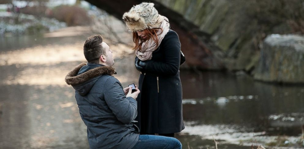 PHOTO: Part of the appeal of proposal photography is capturing the element of surprise and delight on the brides face.
