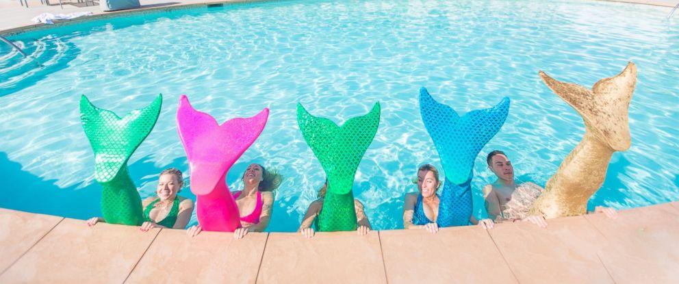 PHOTO: Mermaid Fitness at the Hotel Del Coronado