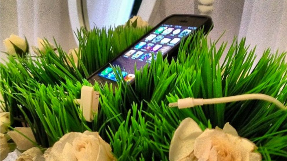 PHOTO: Mindy Weiss shares photo of a phone-charging station she created on Instagram