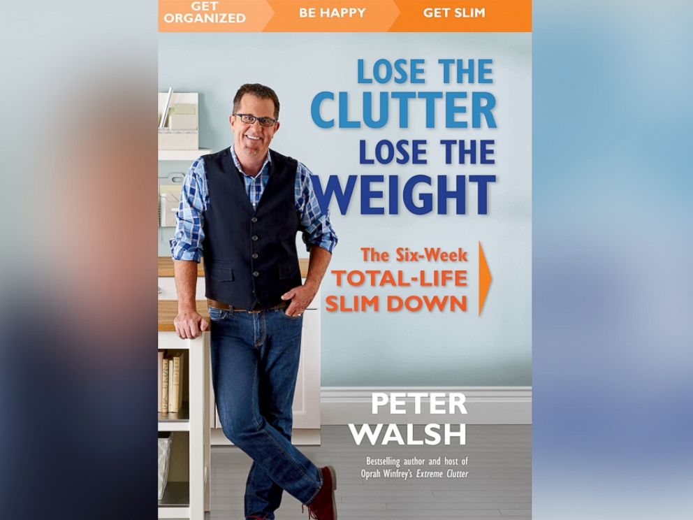 PHOTO: Can you lose weight by getting rid of the clutter in your home?