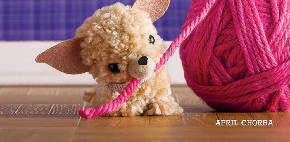 PHOTO: Pom-Pom Puppies is the latest and cutest breed of successful pom-pom titles.