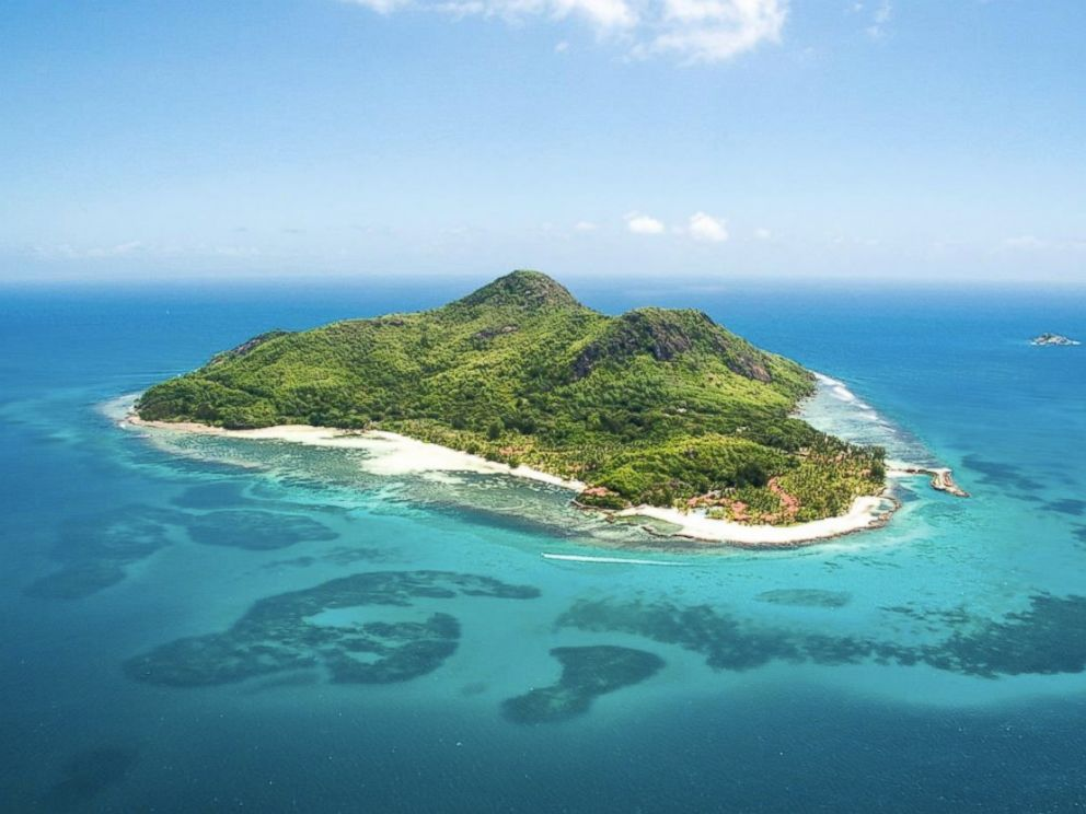 PHOTO:The Beachcomber Sainte Anne Island in the Seychelles has 87 private villas.
