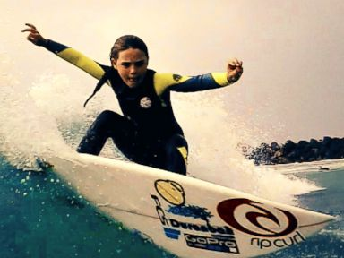WATCH:  7-Year-Old Phenom 'Flying Squirrel' Takes Surfing World by Storm