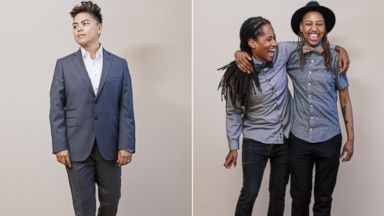 PHOTO: Sharpe Suitings ready-to-wear line makes no assumptions about gender, using a new sizing chart that the company feels is much more inclusive.