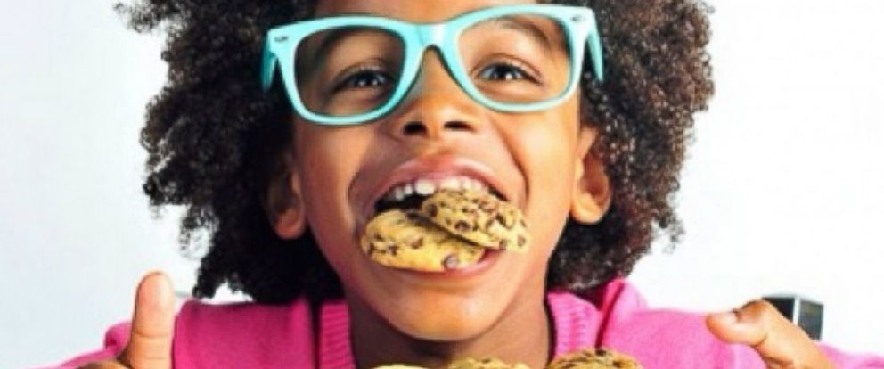 PHOTO: Cory Nieves, 10 years old, is the face of his cookie company.