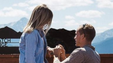 PHOTO: Zach Baldwin, 24, surprised his now wife Catie Bossard Baldwin, 25, by proposing to her and then asking her to get married immediately.