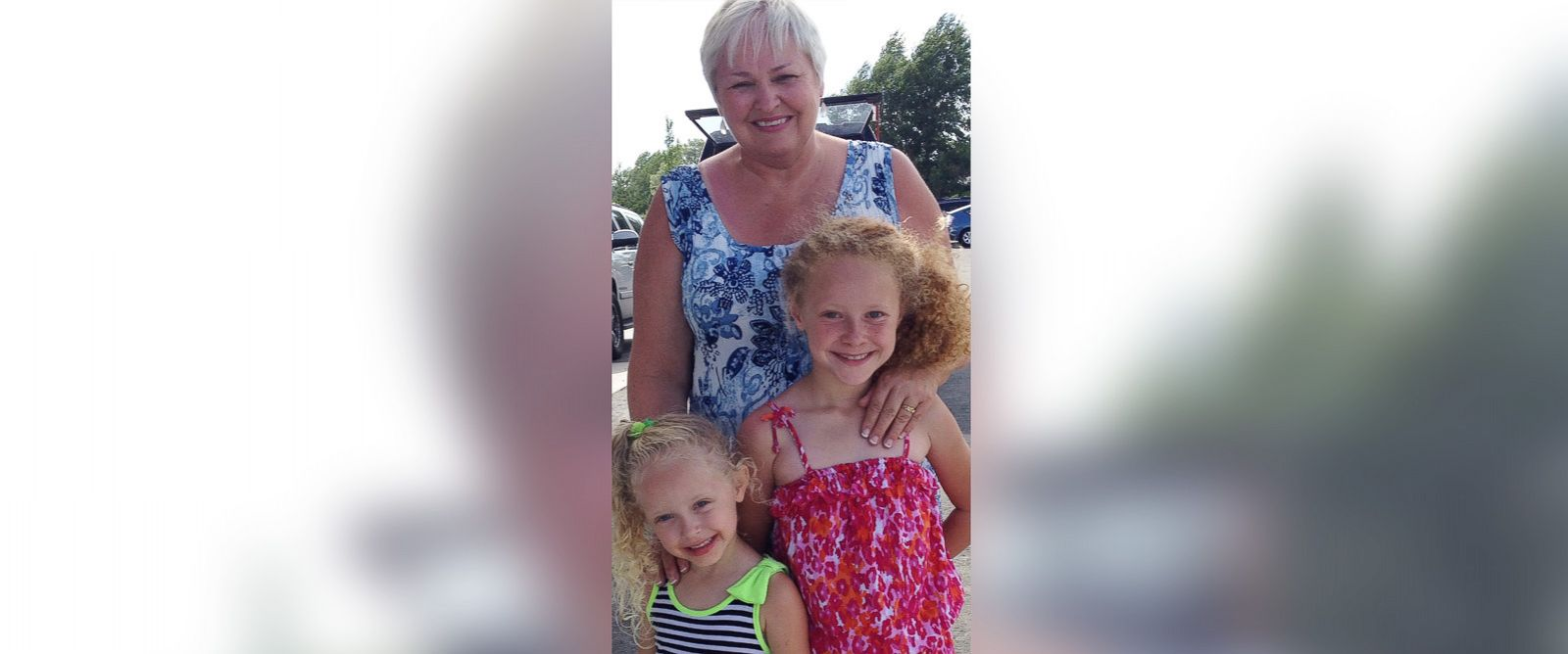 "PHOTO: Tana Baumler, pictured with granddaughters, called her speeding ticket ""a teaching moment."""