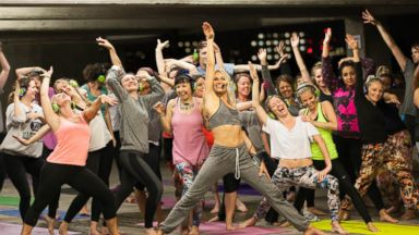 PHOTO: Voga, a combination of 80s dance moves and yoga, is coming to the US this spring.