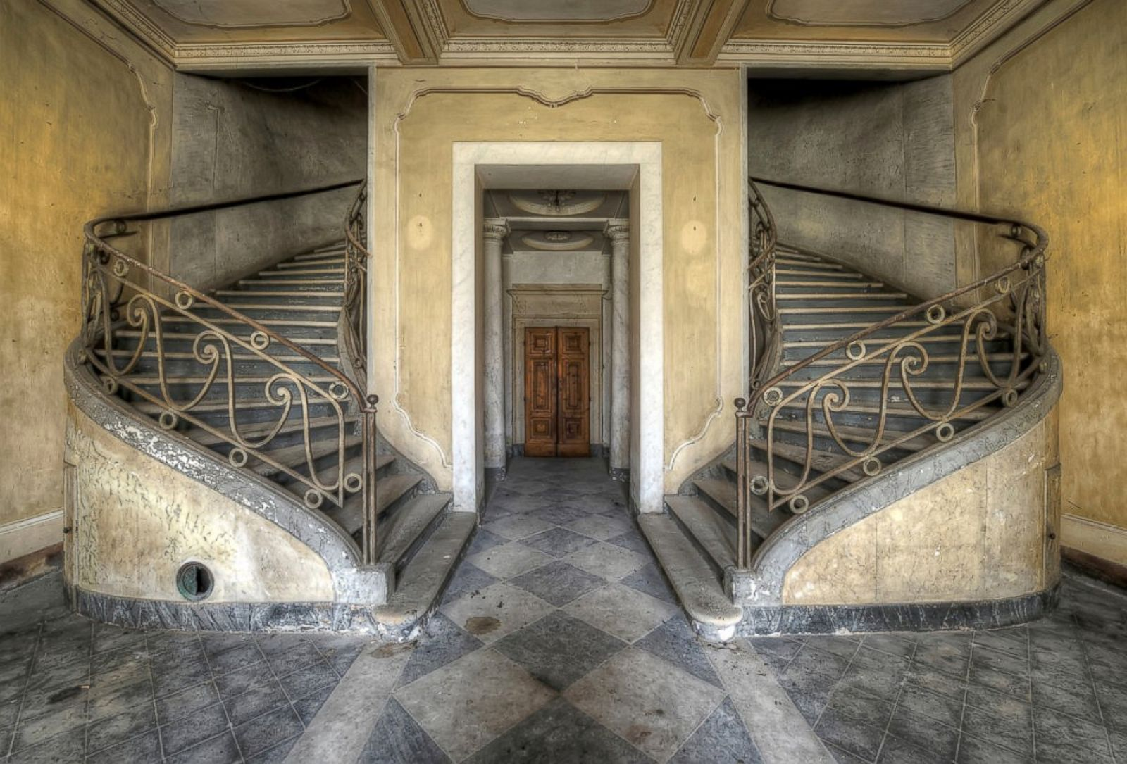Images of these abandoned places will give you chills for Newspaper wallpaper for sale