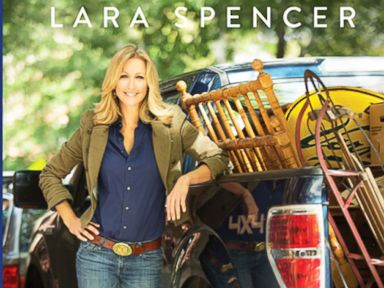 PHOTO: Lara Spencer shares her tips on how to pull off your own design makeover on any budget in her new book, Flea Market Fabulous: Designing Gorgeous Rooms with Vintage Treasures.