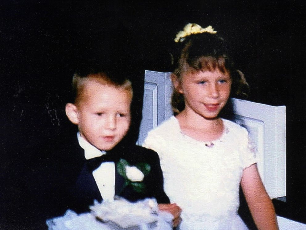 PHOTO: The two walked in a wedding party together as children in 2001.